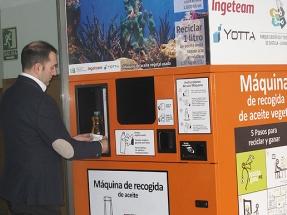 Ingeteam colabora en la recogida de aceite doméstico