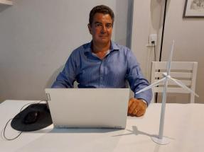 """Juan Manuel Alfonsín: """"Cuidar el planeta significa apoyar las energías renovables, sobre todo en Argentina"""""""