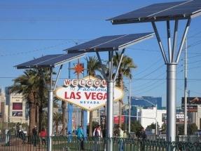 Las Vegas, enchufada a la electricidad verde