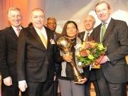 """El proyecto """"Mujeres solares"""" gana el Energy Globe World Award"""