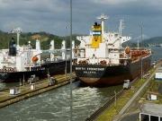 La ampliación del canal viene con buques más verdes