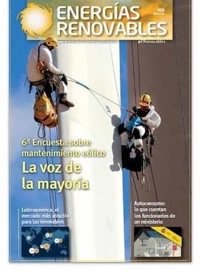 Especial Eólica: 6ª Encuesta sobre mantenimiento eólico