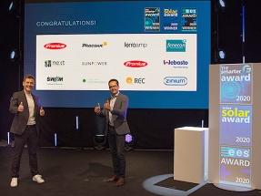 Y los ganadores de los premios The smarter E, Intersolar y ees son…