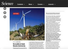 Las renovables en España no tienen por qué ser una amenaza para la biodiversidad, y son necesarias