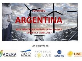 Seminario en Madrid: 2017, el Año de las Renovables