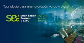 El IX Smart Energy Congress & EXPO 2021 se celebrará el 27 y 28 de octubre en Madrid