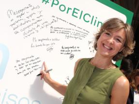 Isabel Tejerina presenta la Plataforma Española de Acción Climática