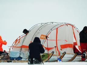 Los expedicionarios del Trineo de Viento ya están en el hielo de la Antártida