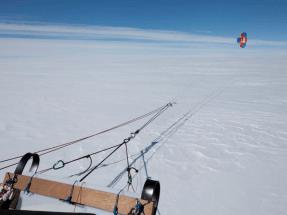 El Trineo de Viento vuelve a Groenlandia para estudiar el cambio climático en el Ártico