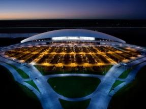 El aeropuerto de Carrasco, el primero en la región en inaugurar una planta fotovoltaica