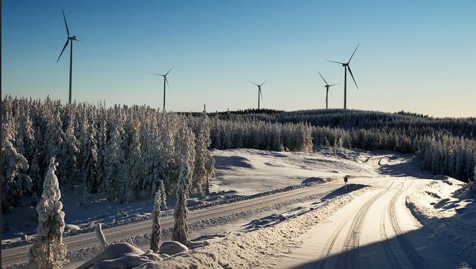 La revolución eólica despega en los países nórdicos con nuevos récords de generación