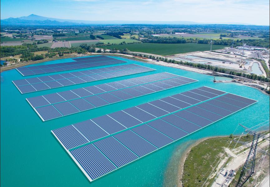 Trina Solar suministra 17 MW al sistema fotovoltaico flotante más grande de Europa