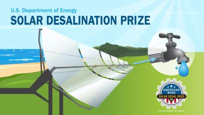 Concurso: Desarrollar sistemas de desalinización de agua de bajo costo a partir de energía solar térmica