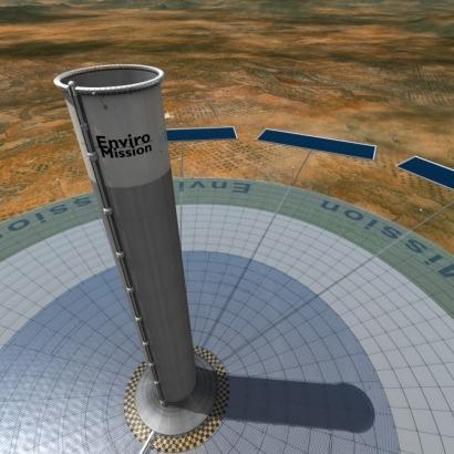 Una torre al cielo para un nuevo sistema termosolar