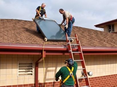 Presentan una certificación para instaladores de sistemas solares térmicos