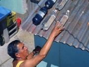 La energía solar permite desinfectar eficazmente el agua potable