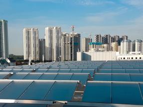 La climatización con energía solar vuelve a crecer en el mundo