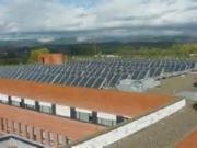 La instalación de solar térmica en los hospitales públicos de CyL ha ahorrado 1,5 millones a la Junta