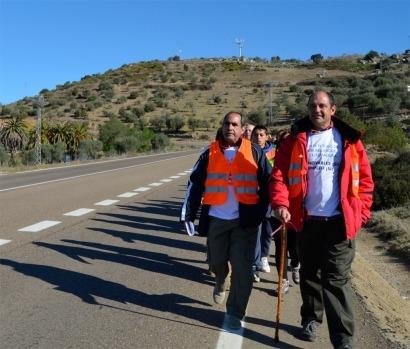 400 kilómetros a pie para protestar contra la moratoria renovable