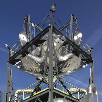 Un proyecto italiano muestra el potencial de la arena para almacenar energía en plantas termosolares