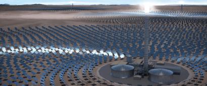 CHILE: SolarReserve pasa el examen medioambiental para desarrollar una central termosolar de torre de 450 MW
