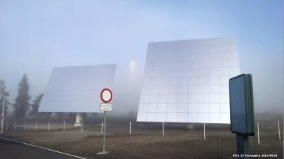 La PSA diseña un dispositivo para mejorar la predicción de la energía en centrales de torre