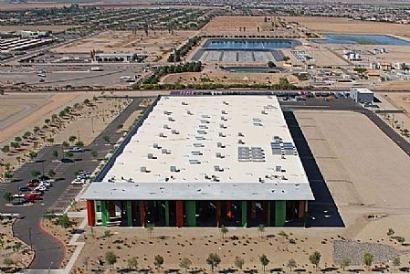 Rioglass Arizona ya ha suministrado el 85% de los espejos a Solana, la mayor termosolar del mundo