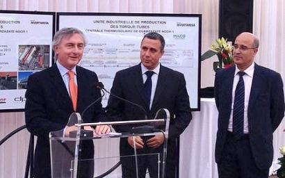 La española Made inaugura una fábrica de estructuras termosolares en Marruecos