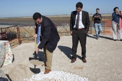 Morón de la Frontera coloca su primera piedra termosolar