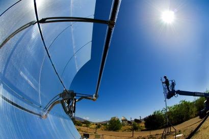 Crédito de un fondo internacional para una planta de concentración solar