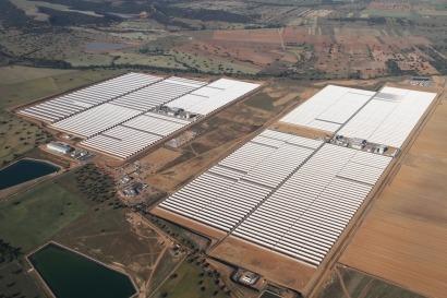 Abengoa e Itochu inauguran la Plataforma Solar Extremadura