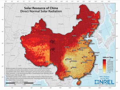 China se marca el objetivo de tener 5GW de CSP para 2020