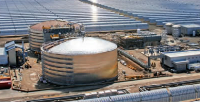 La CSP con almacenamiento garantiza un suministro de energía estable y fiable