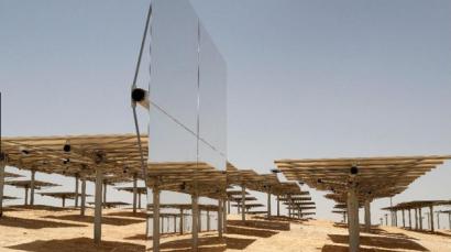 60 trabajadores españoles participan en la construcción de la termosolar israelí de Negev