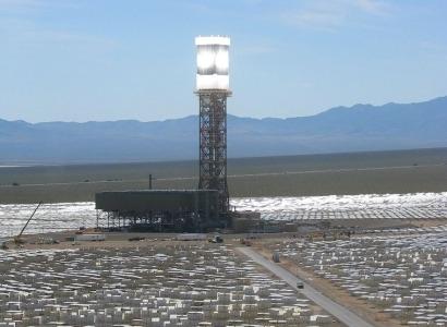 A plena marcha la mayor planta termosolar del mundo