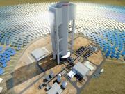 Abengoa completa la construcción de la primera torre termosolar de Sudáfrica
