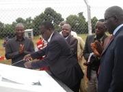 Uganda inaugura su primera central termosolar