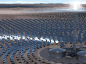 SolarReserve pasa el examen medioambiental para desarrollar una central termosolar de torre de 450 MW