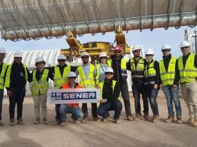 El campo solar de la marroquí NOORo II ya está terminado al 100%