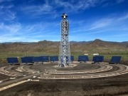 CTAER pone en marcha una instalación solar de ensayos de canal parabólico