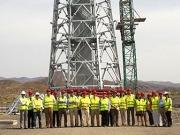 Una nueva torre solar para la investigación en Tabernas