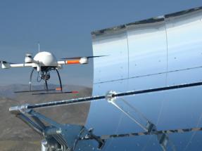 Los drones también sirven para optimizar el funcionamiento de las plantas CSP