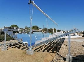 Secasol, un proyecto pionero que utiliza espejos Fresnel para secar lodos y desactivar su carga tóxica