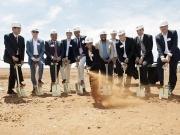 La planta solar Kathu, de 100 MW, empieza a tomar cuerpo