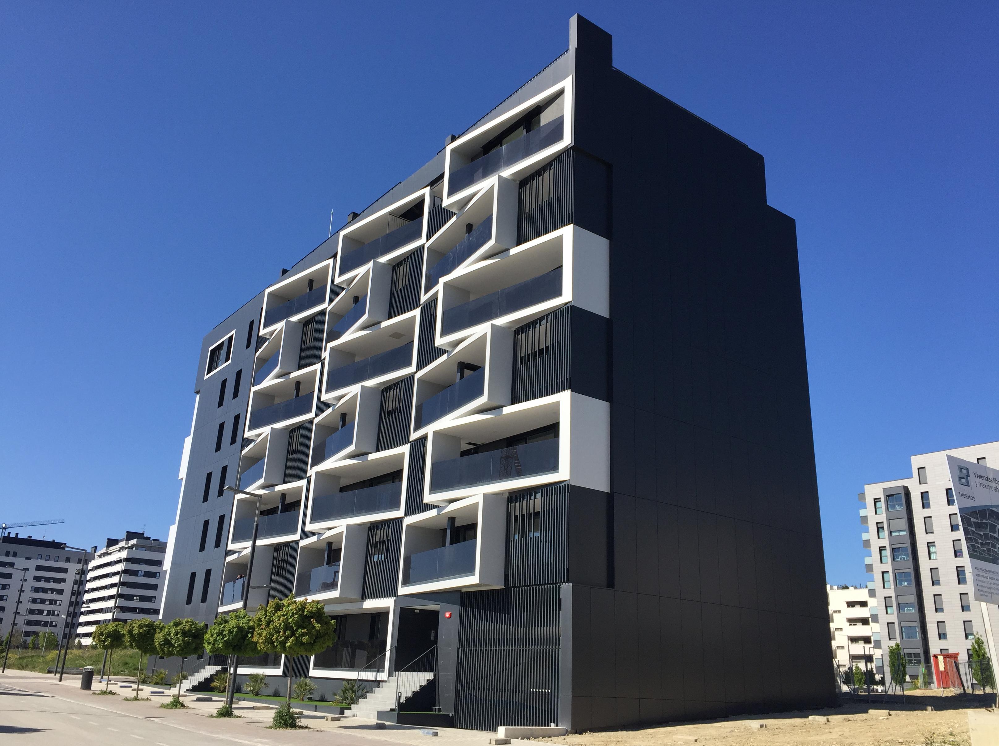 El Edificio Thermos de Pamplona, otro ejemplo de eficiencia energética